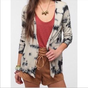Staring at Stars BoHo Tie-dye Cardigan Small